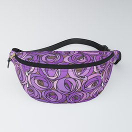 "Charles Rennie Mackintosh ""Roses and teardrops"" edited 7. Fanny Pack"