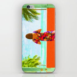 Shall I Compare Thee To A Summer's Day? iPhone Skin
