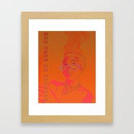 JP THE WAVY Framed Art Print