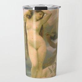 Birth of Venus by William Bouguereau Travel Mug