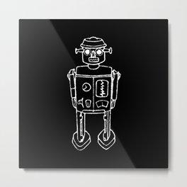 RO BOT Metal Print