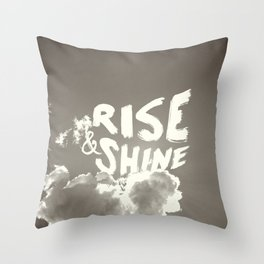 Rise & Shine Throw Pillow