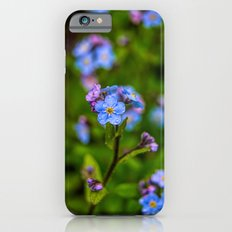 Forget-me-nots In The Rain Slim Case iPhone 6s