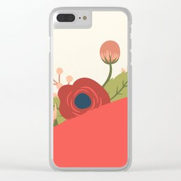 Red Spring 1 Clear iPhone Case
