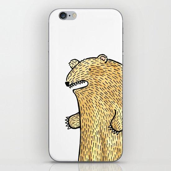 humble bear iPhone Skin