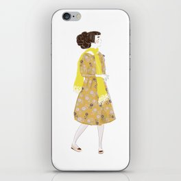 Cute girl iPhone Skin