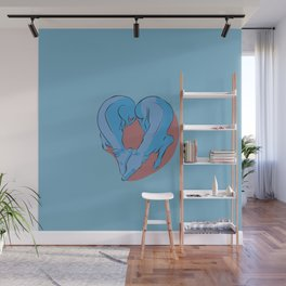 Greyhound Love Wall Mural
