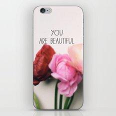You are Beautiful iPhone & iPod Skin