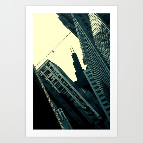 Perils of the Big City Art Print