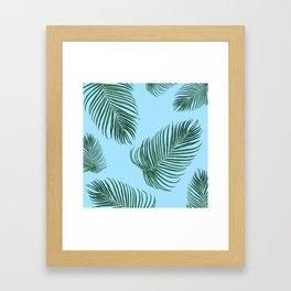 MIAMI PalmTree Leaves Framed Art Print