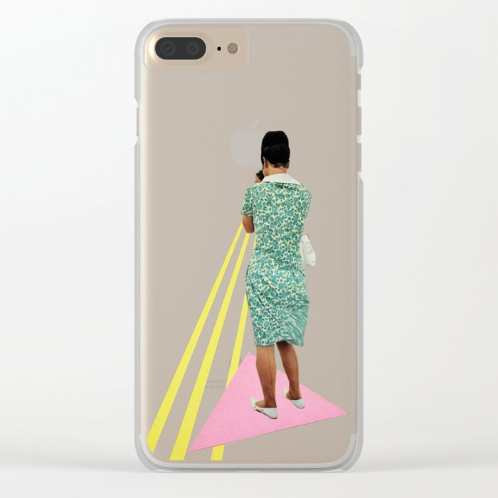 The Photographer Clear iPhone Case