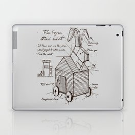 trojan rabbit Laptop & iPad Skin