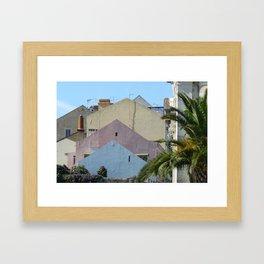 Play of colours Framed Art Print