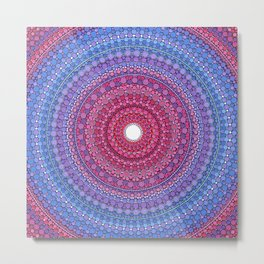 Keeping a Loving Heart Mandala Metal Print