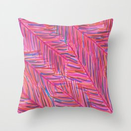 Hot Tropical Nights Throw Pillow