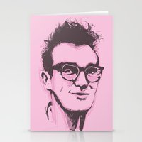the smiths Stationery Cards featuring Morrissey by 1and9