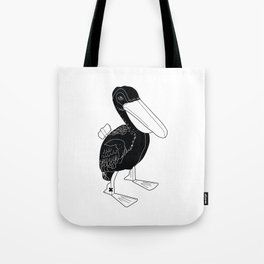 COMMUNIST DUCK Tote Bag