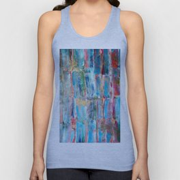 Sweet Sugarcane with Gold Unisex Tank Top