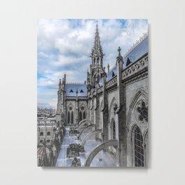 San Juan Basilica Cathedral Quito Ecuador Metal Print