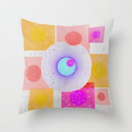Multicolored abstract no. 67 Throw Pillow
