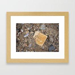 Rockland Brick Framed Art Print