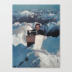 Needlewoman Canvas Print