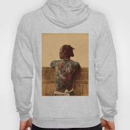 Tattooed Samurai Hoody
