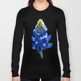 Just A Touch of Blue Long Sleeve T-shirt