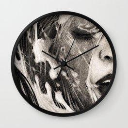 Mermaid for Apnea Wall Clock