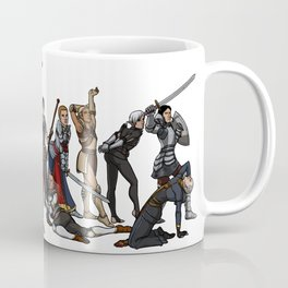 Strong female pose - Dragon Age group Coffee Mug