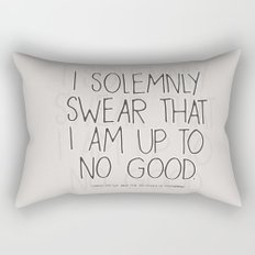 Harry Potter Quote #1 Rectangular Pillow