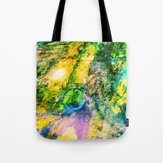 My Sister lives On The Large Green Planet Tote Bag