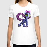 cheshire cat T-shirts featuring Cheshire by Jolie Bonnette Art