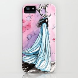 witchy bubbles iPhone Case
