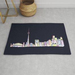 Toronto - Midnight Version Rug