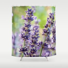 Lavender Flowers #1 #floral #art #society6 Shower Curtain