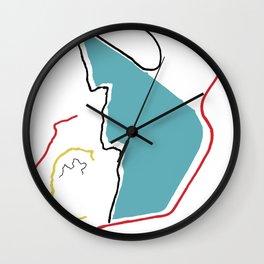 A4 Wall Clock