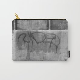 Vida Graffiti Black And White Photography Carry-All Pouch