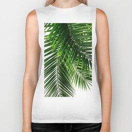 Palm Leaves #3 Biker Tank