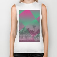 miami Biker Tanks featuring Miami by Sander Smit