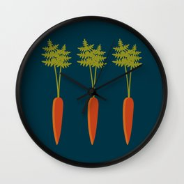 Vegetable Medley Wall Clock