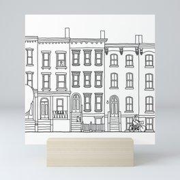 blocks of Brooklyn Mini Art Print