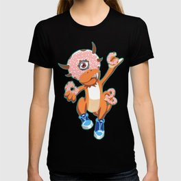 """Donuthead"" the Kaiju Food Monster T-shirt"