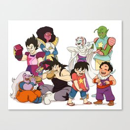 Steven's Moms and Gohan's Dads Canvas Print