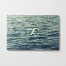 Infinity. Metal Print