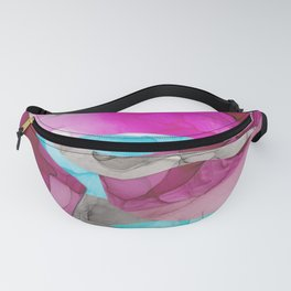 Our Love Is, Ink Abstract Fanny Pack
