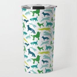 Dog Pattern Travel Mug