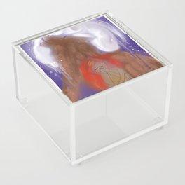 Howling Down the Moon Acrylic Box