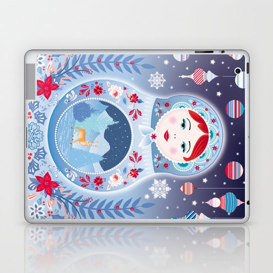 Our Lady of Winter Laptop & iPad Skin