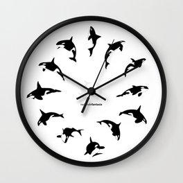 Orcas Wall Clock